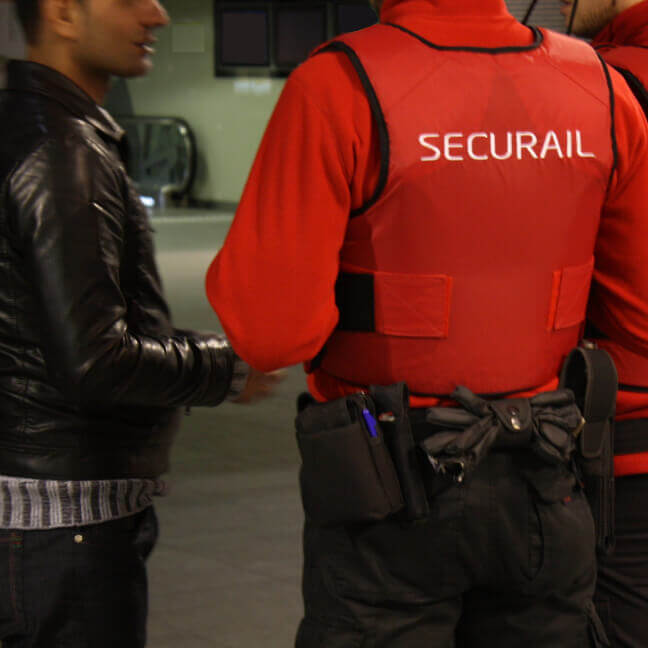 Securial Train Security Talking