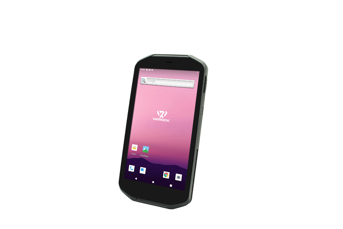 Scoria A105 Rugged Handheld view from front