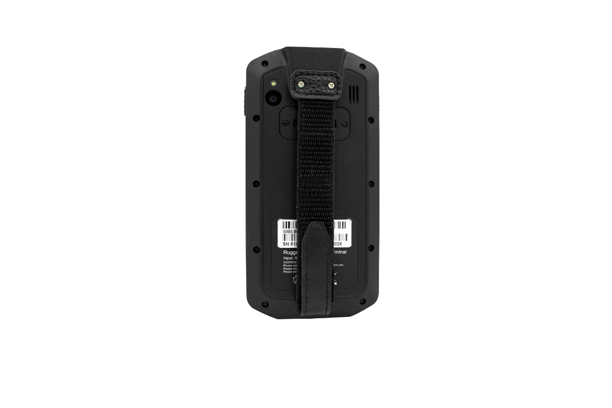 Scoria A105 Rugged Handheld view from back