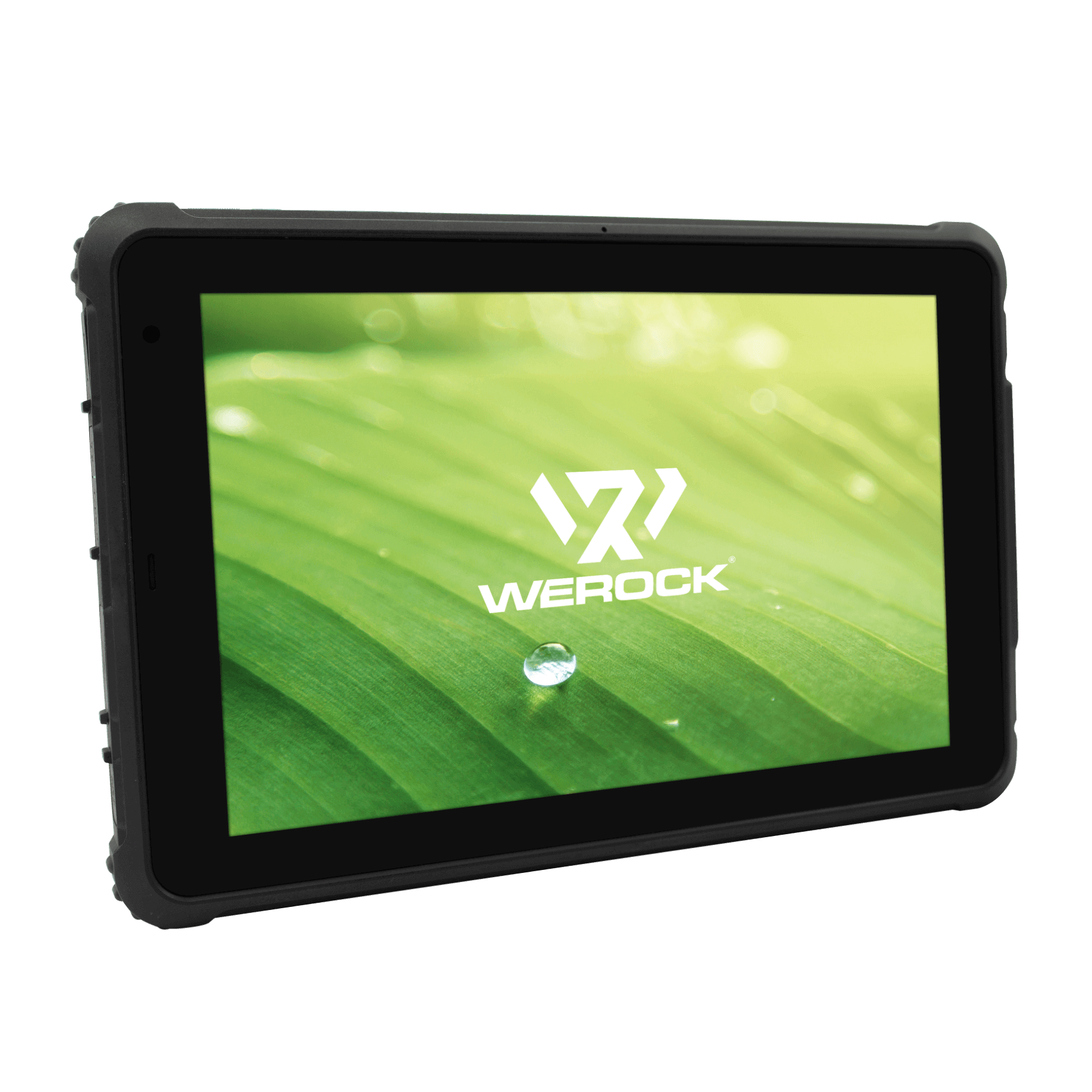 Rocktab S110 Rugged Tablet view from front, slightly angled