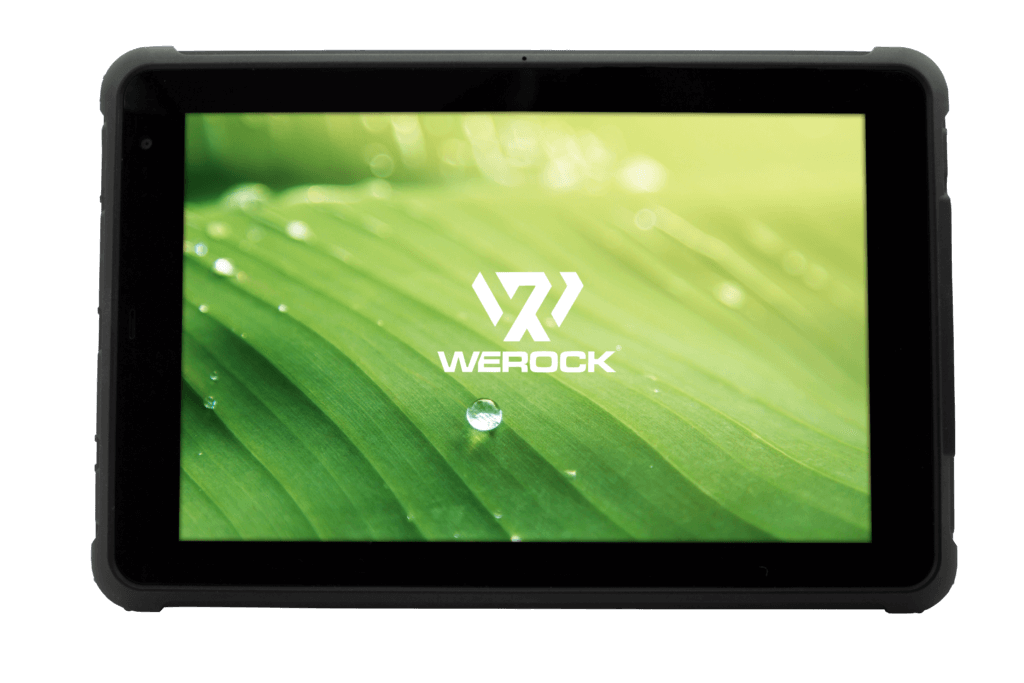 Rocktab S110 Rugged Tablet view from front