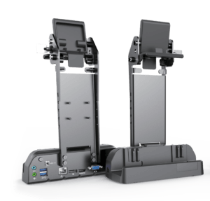 Rocktab U210 Vehicle Dockingstation from front and from back